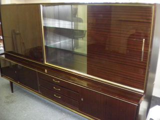 Vintage 1960 ' S Cabinet Made In Germany photo