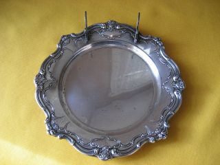 Antique Gorham Chantilly - Duchess Sterling Tidbit Tray Plate Dish - 2 photo