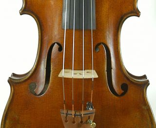 Amazing Italian Violin By Nicola Ponti C.  1998 4/4 Old Antique.  Violino photo