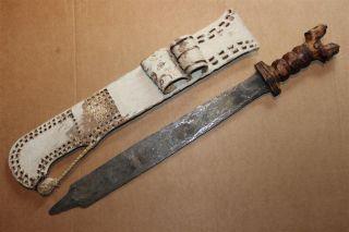 Cameroun Old African Knife Ancien Couteau Bali Afrika Kongo Africa Afrique Wum photo