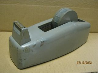 Antique Tape Dispenser Large Heavy Metal Old Store From Hedger ' S Drug Store photo