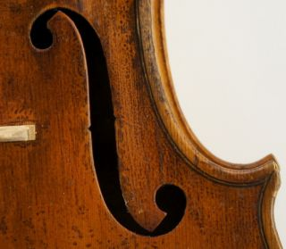 Very Good Antique French Violin,  C.  1900 Ready - To - Play Loud Deep And Full Tone photo