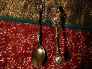Silver Spoon & Sugar Tong photo