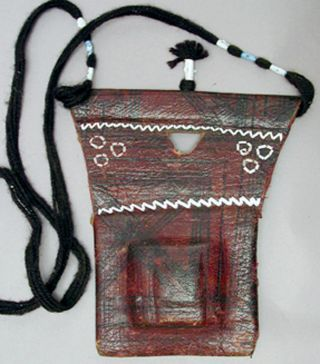 Talisman Jewelry African Magical Amulet Tuareg Protection Necklace Niger Ethnix photo