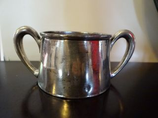 Antique Silver Plate Essex 2 Handle Cup photo
