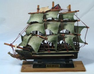 1869 Cutty Sark Wooden Sailing Ship Model 12