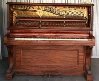 1898 Vintage Ivers & Pond Piano Upright Boston Mass. photo