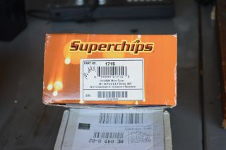 Superchips 1715 Max Micro Tuner Nos Perfect Working Order photo