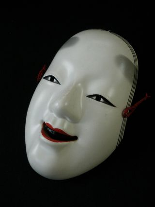 Noh Mask Japanese Ko - Omote Young Woman Kyogen■■ photo