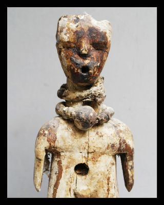 A Unique Janus Power Figure From The Ewe Tribe Of Ghana photo