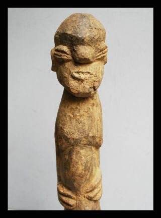 An Encrusted Statue From Lobi Tribe Of Burkina Faso,  Movement photo