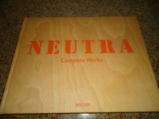 Neutra Complete Works 1st Edition Signed By Photographer Julius Shulman photo