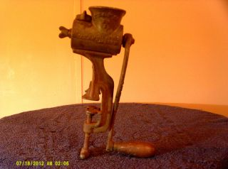 Rare Antique Vintage Meat Grinder 111899 P.  S&w.  Co April 19th 1892 No 25 S photo