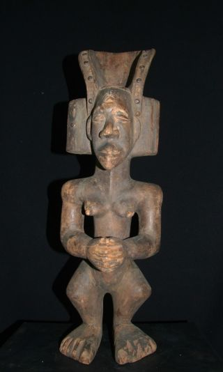 African Tribal Chokwe (tchokwe) Female Figure - - - - - - Tribal Eye Gallery - - - - - - photo