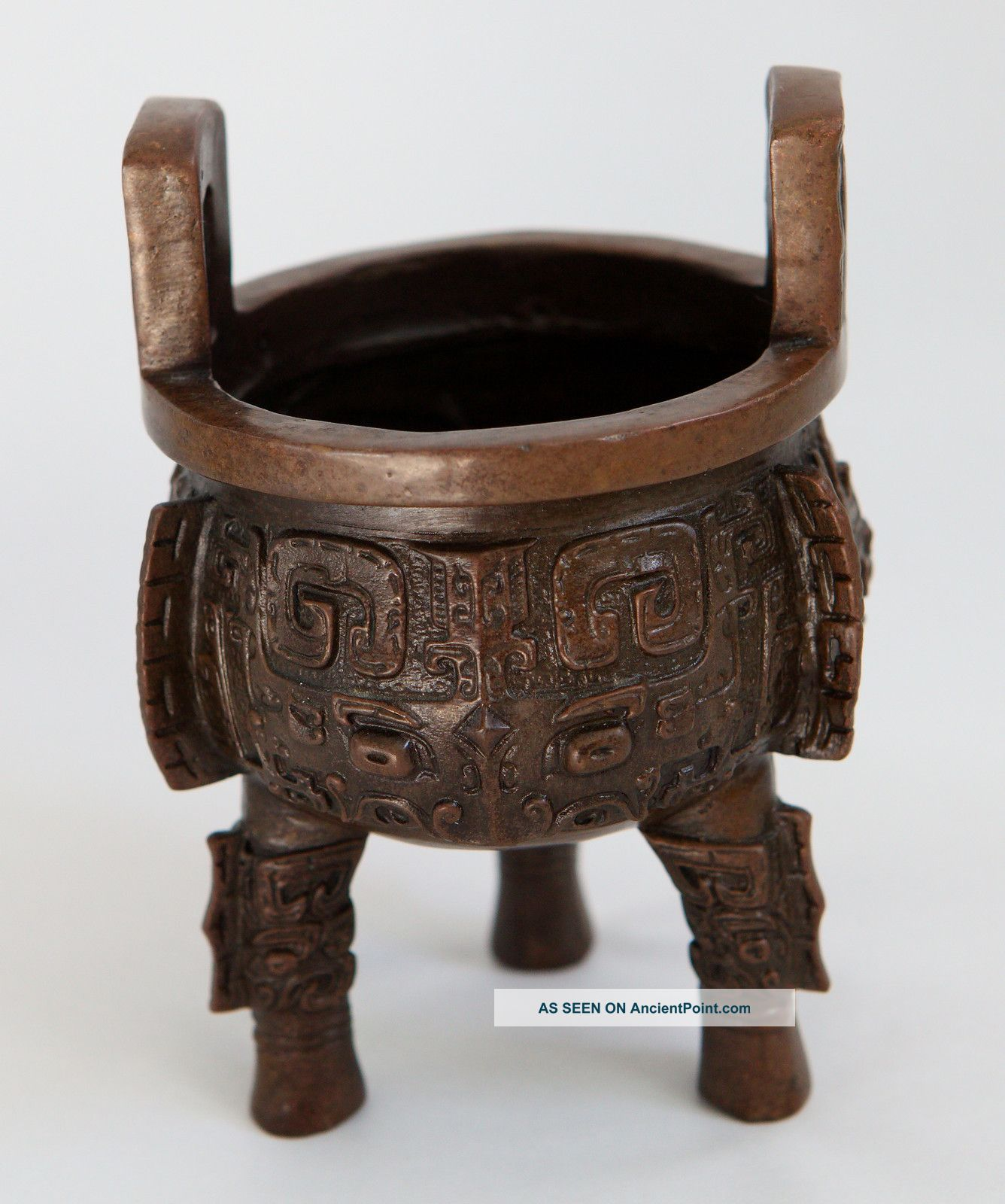 Chinese Bronze Century Boa Ding Reproductions photo