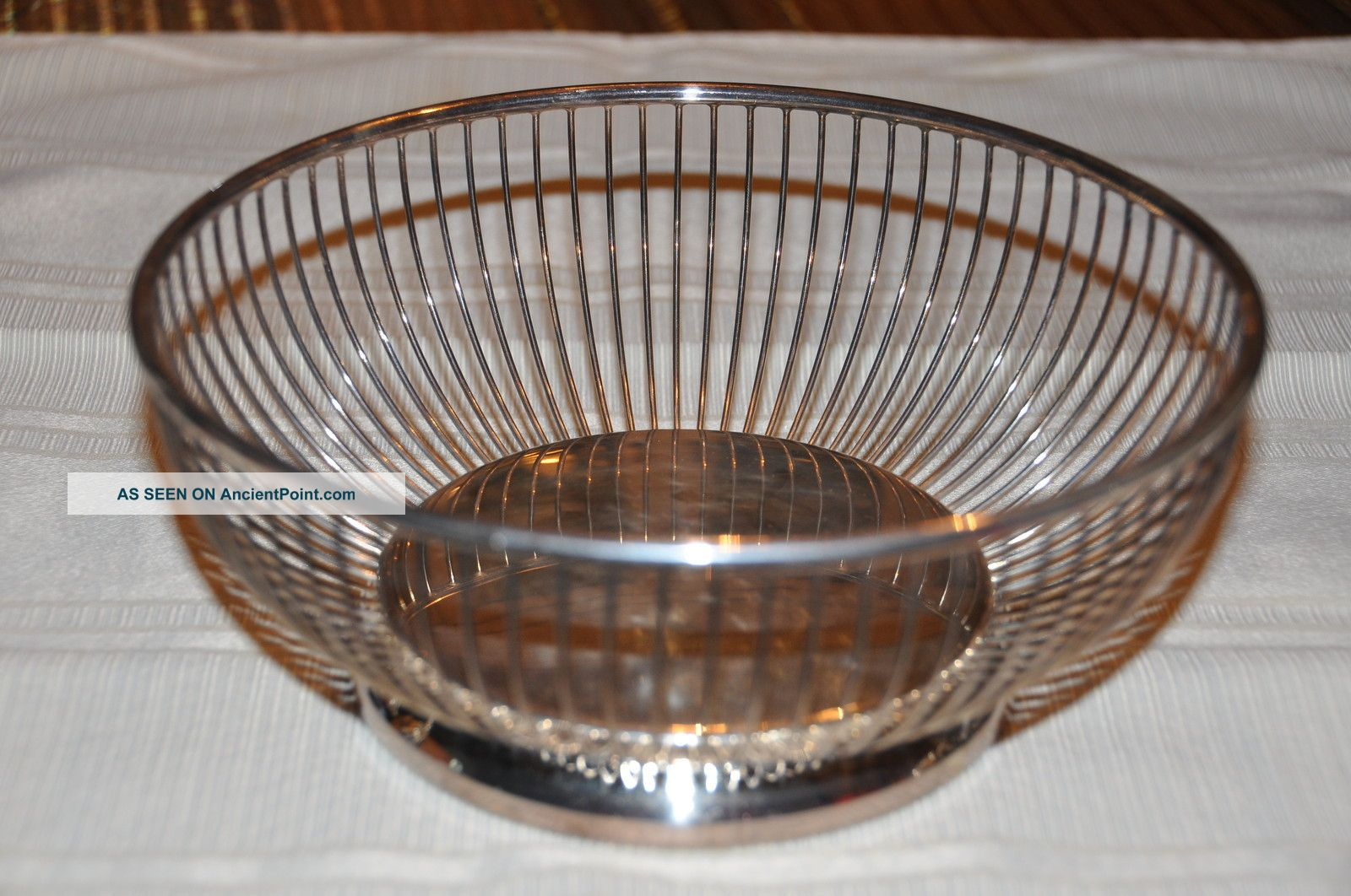 Gorham Ep Yc 741 Silverplated Bread Basket - Just. Baskets photo