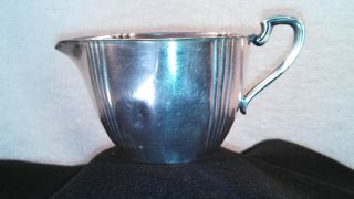 Vintage Forbes Silver Plate Creamer photo