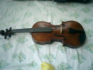 Violin France Full Size 175 Years Old Not A Copy. photo