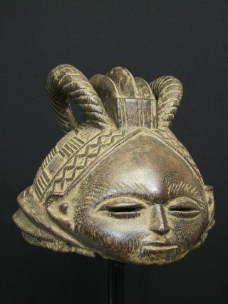 African Tribal - - - - - Mende Helmet Mask - - - - - Tribal Eye Gallery photo