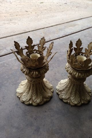 Vintage Candle Holders photo