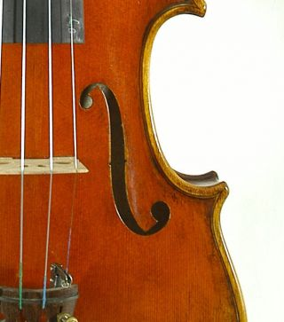Amazing Italian Violin By Nicola Ponti C.  1996 4/4 Old Antique.  Violino photo