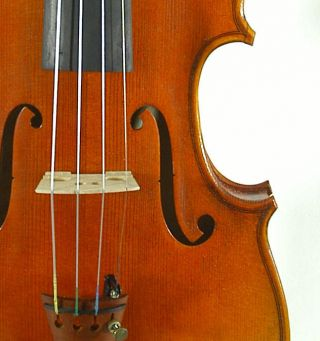 Fantastic German Violin Signed Markus Ebstein C.  1999 4/4 Old Antique Violino photo