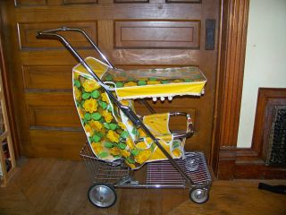 Vintage Retro Mid Century 1960 ' S - 1970 ' S Peterson Baby Stroller Buggy Carriage photo