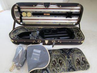 Musafia Enigma Violin Case (model 5011p) photo
