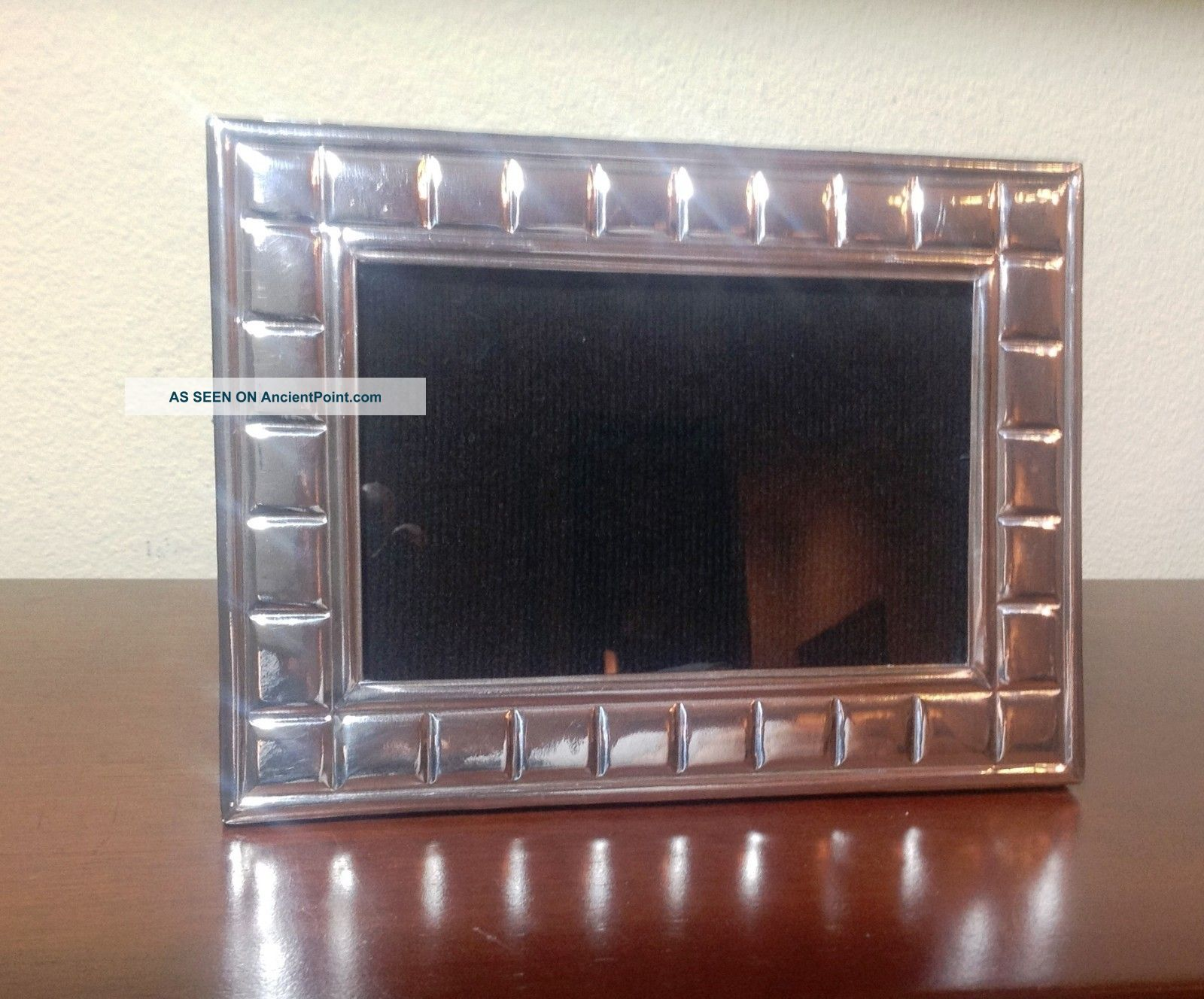 Photo Frame Sterling Silver 925 5 3/4