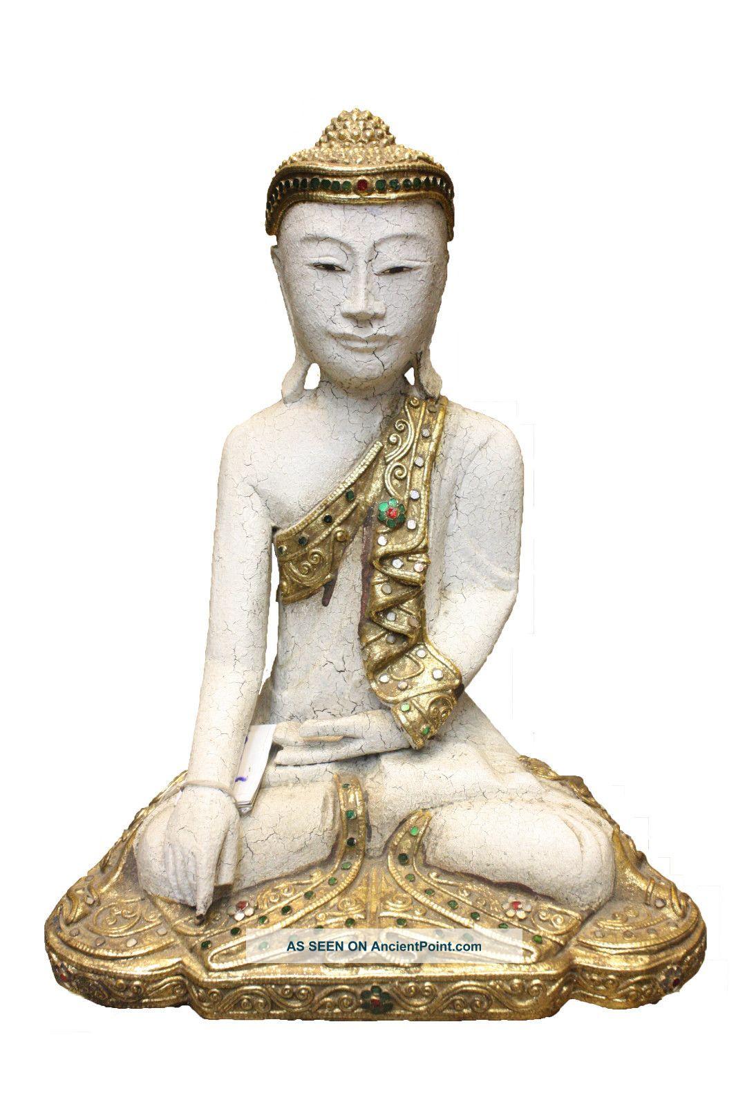 Buddha Wood Phra Nang Decha Khao Taek Reproductions photo