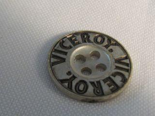 Antique Viceroy Aluminum Metal 3/4