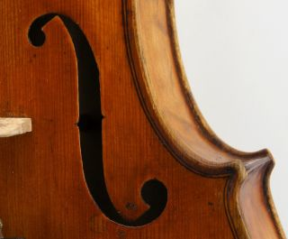 Gorgeous 19th Century Antique American Violin In - photo