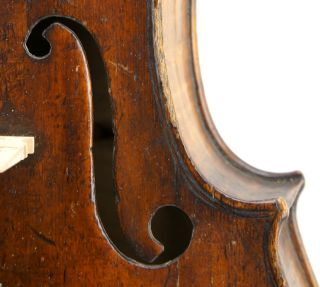 Rare,  Very Old,  Antique,  18th Century French Violin - photo