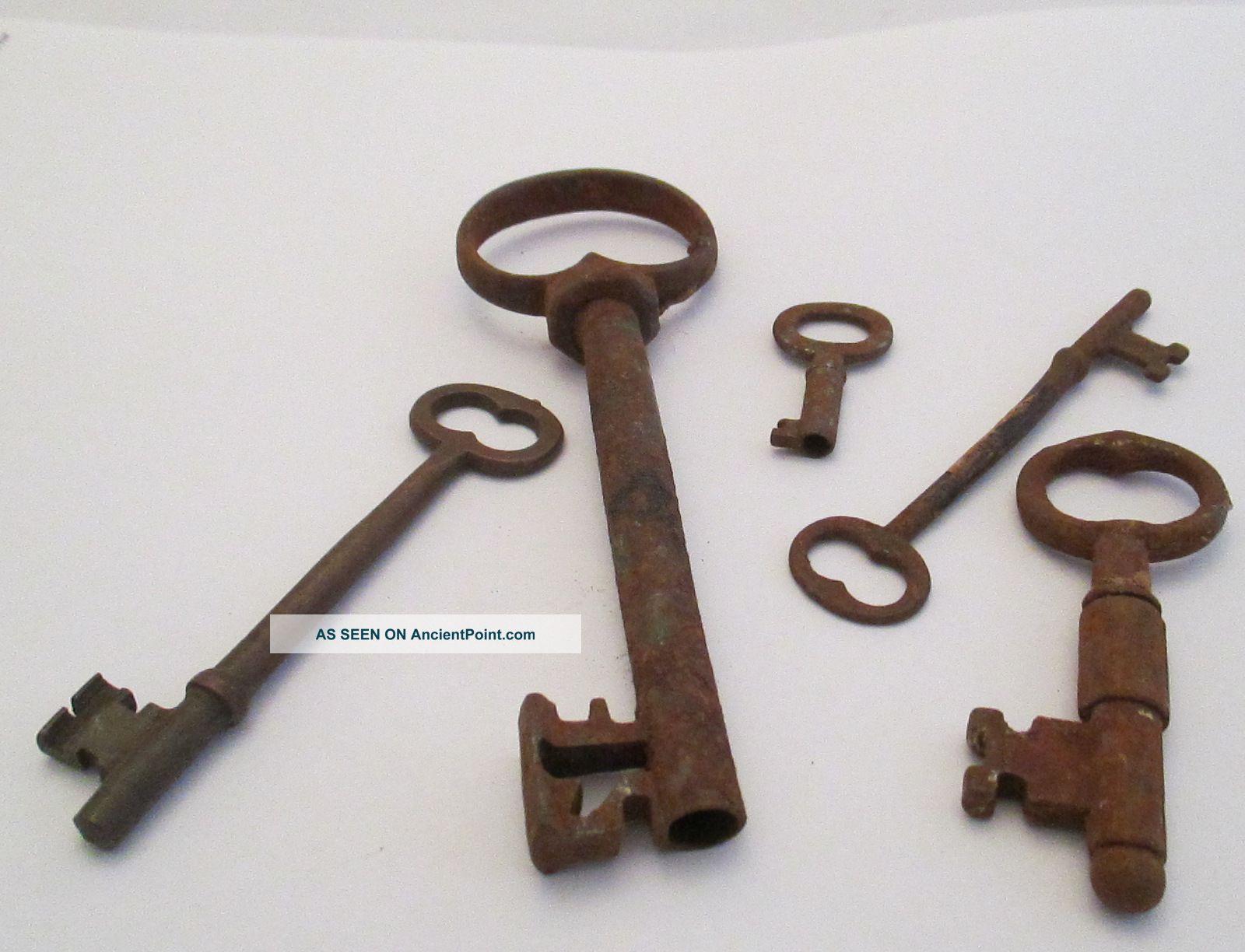 Skeleton Key Door Lock