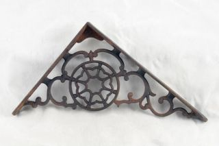 Cast Iron Victorian Shelf Brackets photo