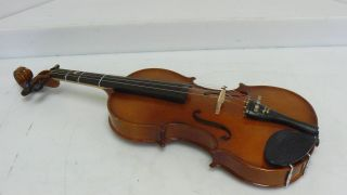 1990 4/4 3011 Antonius Stradiuarius By Erich Pfretzschner Violin W/case photo