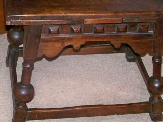 Antiques Kittinger Sliding Leaf Arts & Crafts Table Buffalo Ny photo