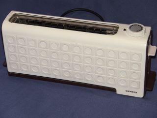 Vintage Siemens Toaster - Tt 5230 - 220 Volts - 900 Watt International Overseas photo