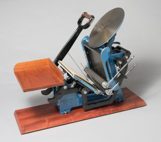 Antique Kelsey Excelsior 5x8 Model U Letterpress Printing Press 100% Restored photo