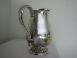Vintage Silver Plated Serving Pitcher 9