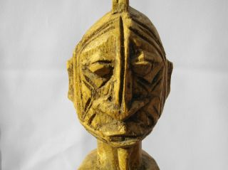 Carved Wooden Tribal Art Figure - Dogon photo