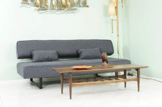 Mid Century Style Sofa,  Bed,  Daybed. photo