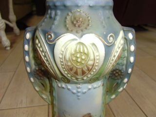 Robert Hanke Rh Austria Double Handled Vase 1900 - 1918 Marking Cond photo