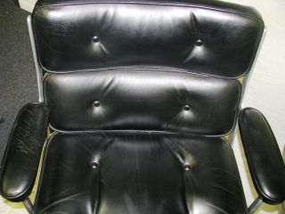 Herman Miller Eames Time - Life Leather Executive Task Chair Pre 1985 Vintagemod photo