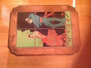 Taylor Made Flamenco Dancer Tile Table photo