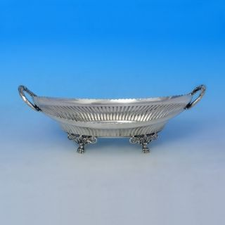 Walker & Hall George V - Silver - Footed Serving Dish - 1918 photo
