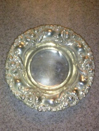 Sterling Silver Bowl,  Antique From The Alvin Manufacturingco. photo