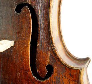 Ancient 17th Century Antique Violin,  Brescian School,  Ready - To - Play photo