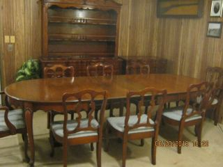 Dixon Powdermaker Vintage Dining Room Set photo