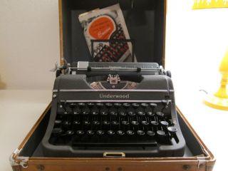 Underwood Champion Typewriter,  Owned By Ardelle Sanderson photo
